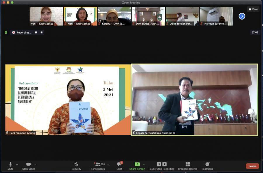 Hani Pramono Anung Ajak Manfaatkan Layanan Digital Perpusnas untuk Bantu Pembelajaran Anak
