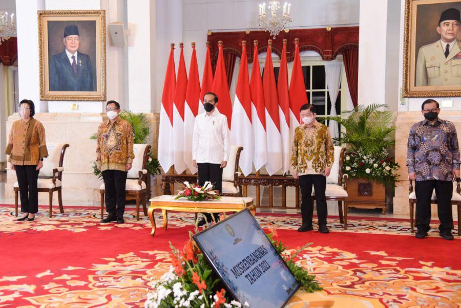 Presiden Jokowi Ungkap Pandemi Beri Pelajaran Luar Biasa Dalam Perencanaan Pembangunan