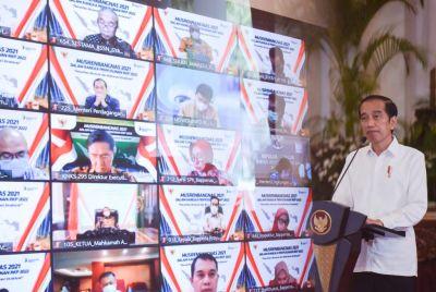 Beri Arahan Musrenbangnas 2021, Presiden Dorong Perencana Manfaatkan Perkembangan Iptek